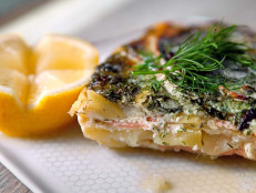 Gravlax-Potato Gratin (Laxpudding)