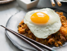 Kimchi and Brisket Fried Rice