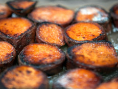 Caramelized Garnet Yams with Garam Masala