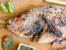 Salt-Crusted Whole Fish (Plaa Phao Kleua)