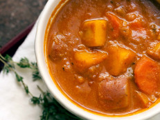 Sweet Potato Cashew Stew