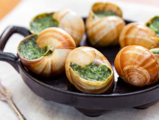 Escargots with Persillade Butter