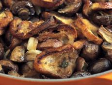 Mushroom-Baguette Stuffing