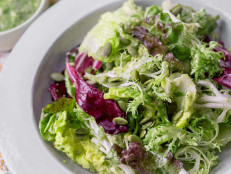 Salad Greens with Pepita Dressing