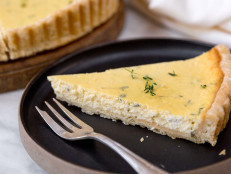 Farmer Cheese and Thyme Pie