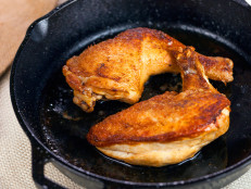 Cast-Iron Skillet Chicken