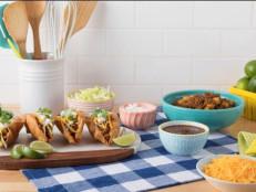 Rick Martinez's Puffy Taco Picadillo