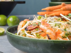 Rice-Noodle Shrimp Salad