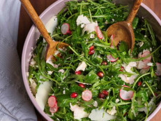 Arugula and Pomegranate Salad