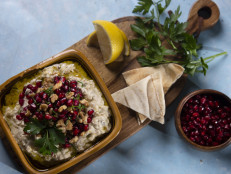 Baba Ganoush and Tabbouleh Salad