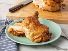 Sweet Glazed Butterflied Chicken