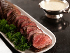Filet of Beef with Horseradish Sauce