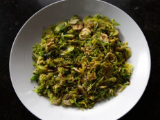 Sauteed Shredded Brussels Sprouts
