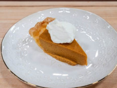 Persimmon Pumpkin Pie