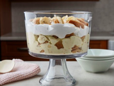 Banana Pudding with Vanilla Shortbread