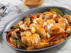 Roasted Chicken with Pan Sauce