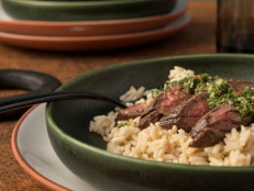 Skirt Steak with Gremolata