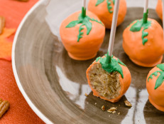 Pecan Pie Pumpkin Cake Pops