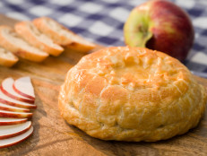 Baked Brie with Fig Preserves