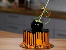 Candy Apple Drip Cake