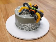 Webbed Spider Cake