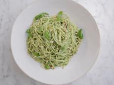 Lemon Pesto Spaghetti