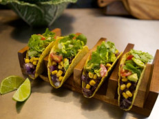 Black Bean & Sweet Corn Tacos