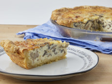 Fennel Sausage and Mushroom Quiche
