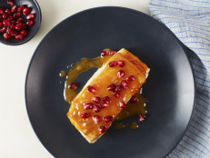 Pan-Seared Halibut with Blood Orange Butter Sauce