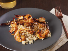 Agave-Glazed Shrimp