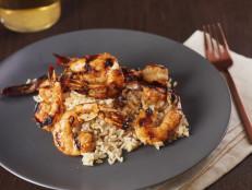 Agave-Glazed Shrimp