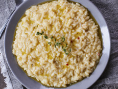 Risotto with Egg and Parmigiano