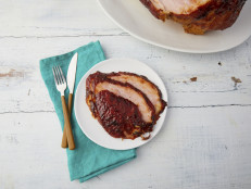 Baked Ham with Maple Mustard Glaze