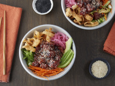 Poke Bowl with Zoodles