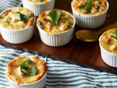 Cheesy Biscuit Pot Pies