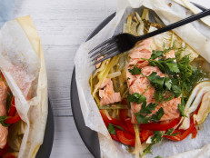 Salmon en Papillote for Two