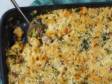 Broccoli and Italian Sausage Baked Pasta