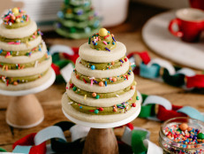 Sugar Cookie Mini Cakes