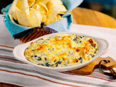 Sunny's Spicy 5-Ingredient Spinach Artichoke Dip