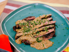 Minute Steak with Quickie Cognac Sauce