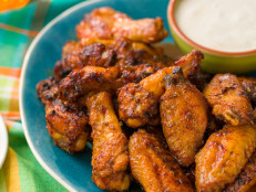 Fiery Apple Wings