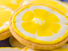 Lemon Vanilla Sugar Cookies