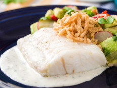 Olive Oil-Poached Cod