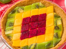 Geometric Fruit Tart