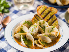 Clams and Chimichurri