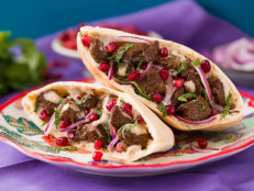 Tahini and Pomegranate Lamb