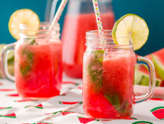 Watermelon and Lime Spritz
