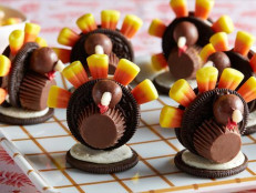 No-Bake Chocolate Cookie Turkeys