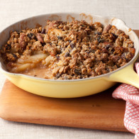 Skillet Granola-Apple Crisp