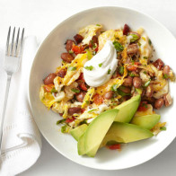Encore: Mexican Eggs with Chorizo and Beans